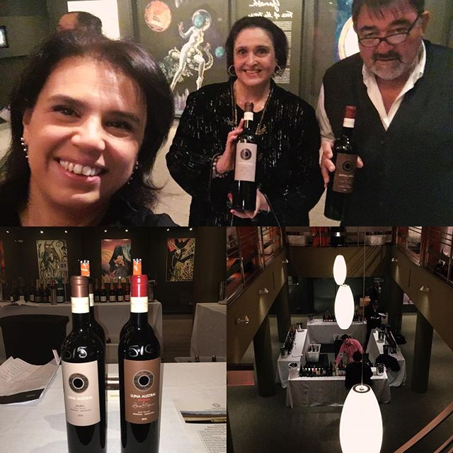 Here we go New York!!! #biodynamicwine #malbec #sintonia #wine #vin #vino thank you  Victor and all your team @vosselections at Rubin Museum @tosomario